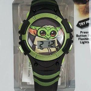 🌷 Disney Baby yoda Star Wars mandalorian watch